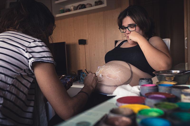 body painting zaragoza