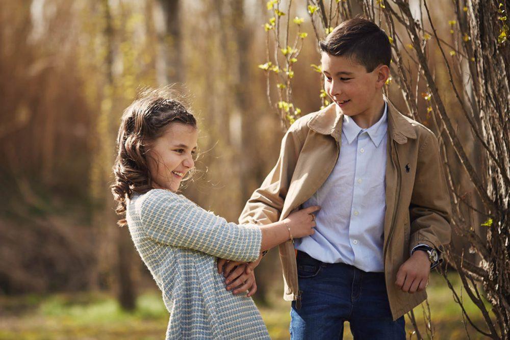 fotografia infantil en exteriores