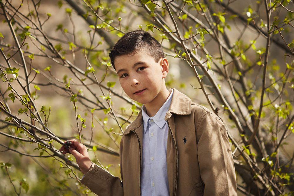 fotos de niño en exteriores zaragoza