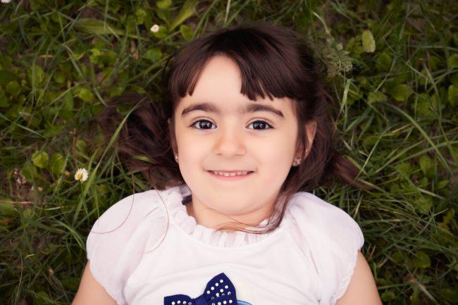 fotografia de niña en Zaragoza