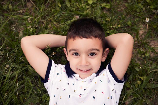fotografia de niño en Zaragoza