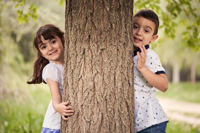 fotos de niños en Zaragoza