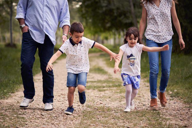 sesion de fotos en familia en Zaragoza