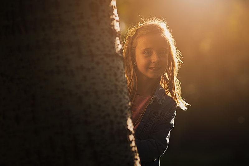 fotografia divertida para niños