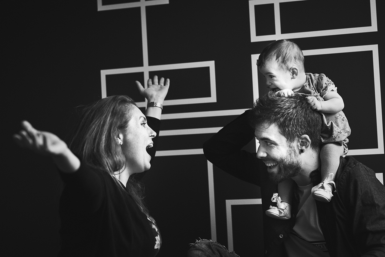 sesion de familia en Zaragoza
