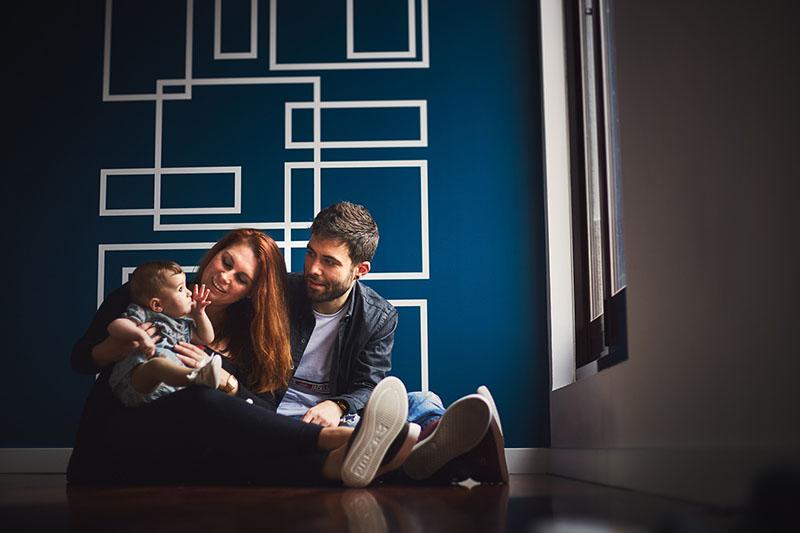 sesion de fotos de familia en Santiago
