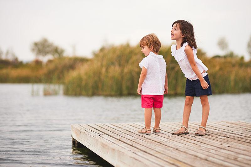 sesion de fotos en el parque del agua