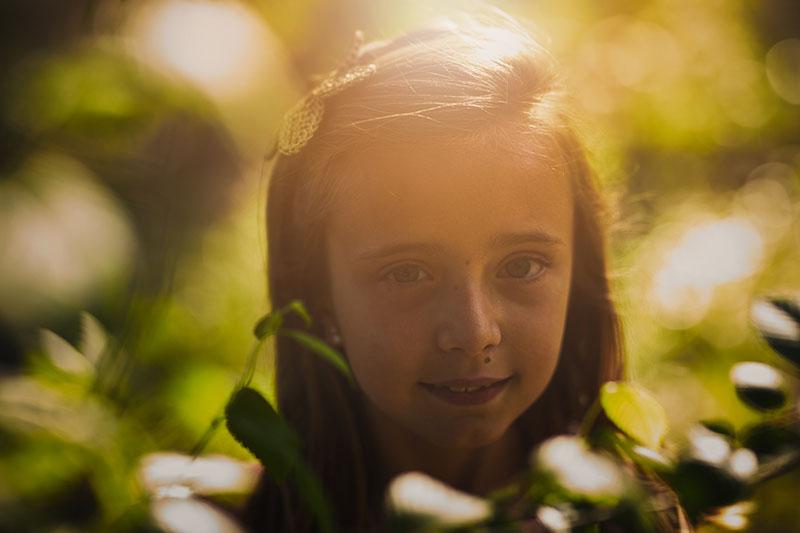 sesiones de fotos bonitas para niños en Zaragoza